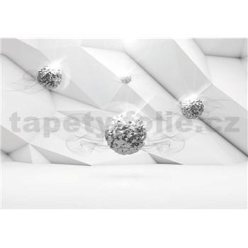 Vliesové fototapety 3D brilianty rozměr 368 cm x 254 cm