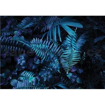 Vliesové fototapety listí kapradí rozměr 368 cm x 254 cm