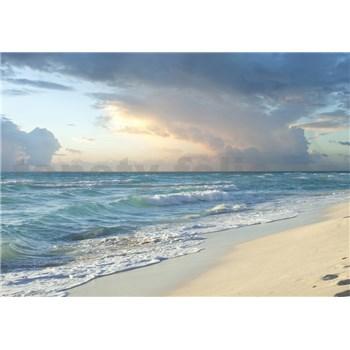Vliesové fototapety písečná pláž rozměr 368 cm x 254 cm