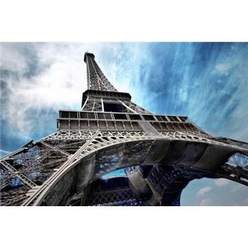 Vliesové fototapety Eiffelova věž rozměr 312 cm x 219 cm