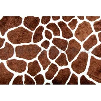 Vliesové fototapety žirafí kůže rozměr 312 cm x 219 cm