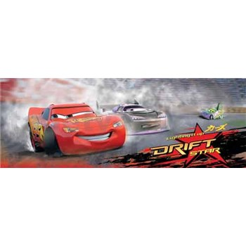 Fototapety Cars drift rozměr 254 cm x 92 cm