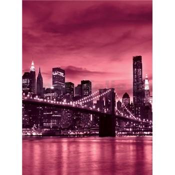 Vliesové fototapety Brooklyn Bridge rozměr 208 cm x 146 cm