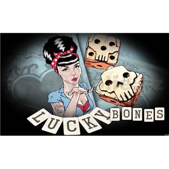 Papírové fototapety Lucky Bones Alchemy Tattoo rozměr 368 cm x 254 cm