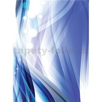 Vliesové fototapety abstrakce modrá rozměr 206 cm x 275 cm