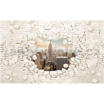 Vliesové fototapety 3D New York rozměr 416 cm x 254 cm