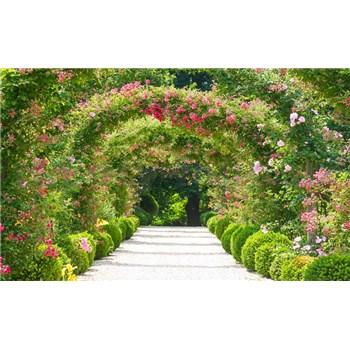 Vliesové fototapety zahrada rozměr 312 cm x 219 cm