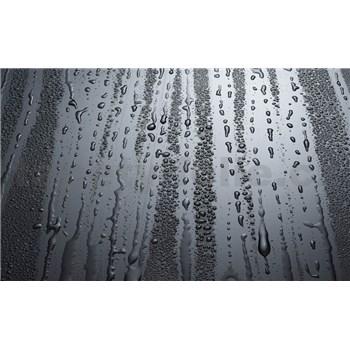 Vliesové fototapety kapky deště rozměr 416 cm x 254 cm