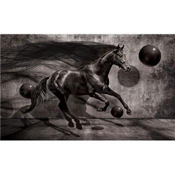 Fototapety 3D kůň rozměr 368 cm x 254 cm