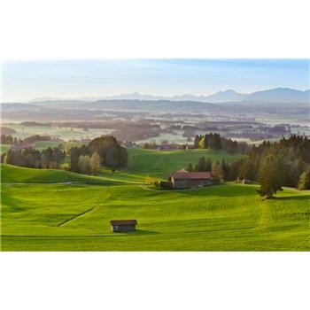 Vliesové fototapety Hefele krásné Bavorsko, rozměr 450 cm x 280 cm