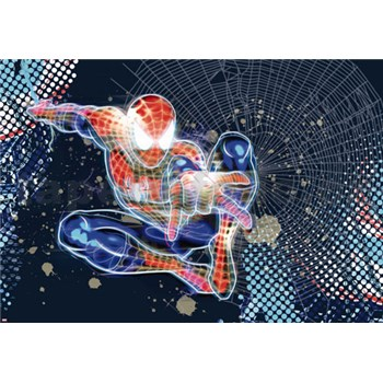 Fototapety Disney Spider-Man Neon rozměr 184 cm x 127 cm