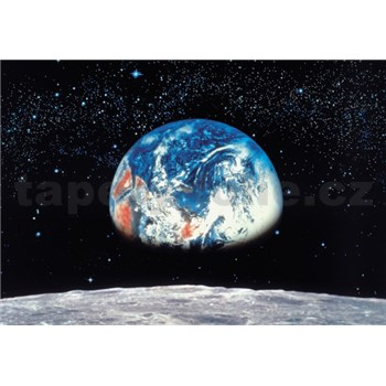 Fototapety Earth/Moon rozměr 388 cm x 270 cm