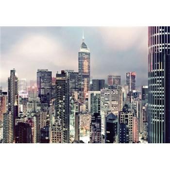 Fototapety panorama velkoměsta rozměr 368 cm x 254 cm