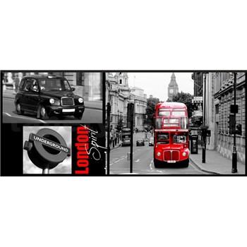 Vliesové fototapety Londýn rozměr 250 cm x 104 cm