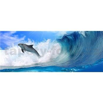 Vliesové fototapety delfín