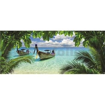 Vliesové fototapety Thajská pláž rozměr 250 cm x 104 cm