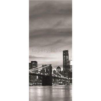 Vliesové fototapety Brooklyn Bridge rozměr 91 cm x 211 cm