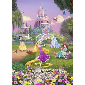 Fototapety Disney Princess západ slunce rozměr 184 cm x 254 cm