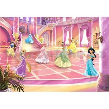 Fototapety Disney Princess třpytivá párty rozměr 368 cm x 254 cm