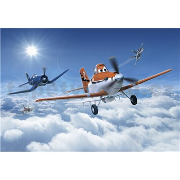 Fototapety Disney Letadla v oblacích rozměr 368 cm x 254 cm