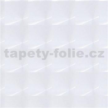 Samolepící tapety transparentní - čtverce 90 cm x 15 m