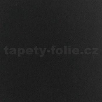Samolepící velurová tapeta černá 45 cm x 5 m
