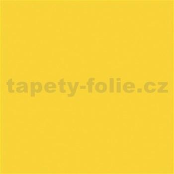 Samolepící fólie žlutá lesklá - 45 cm x 15 m