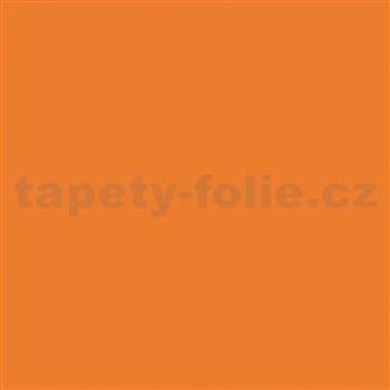 Samolepící fólie oranžová lesklá - 45 cm x 15 m