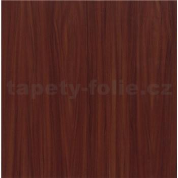 Samolepící tapety mahagonové dřevo světlé - 90 cm x 15 m
