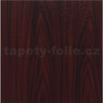 Samolepící tapety mahagonové dřevo - 90 cm x 15 m