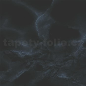 Samolepící tapety mramor černý Carrara 90 cm x 15 m
