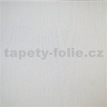 Samolepící tapety bílé dřevo - 90 cm x 15 m