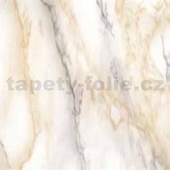 Samolepící tapety - mramor Carrara světle béžová 90 cm x 15 m
