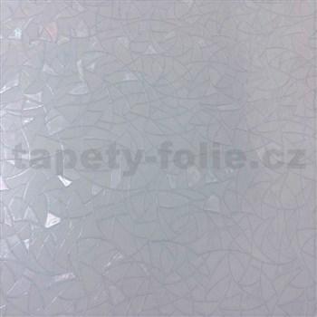 Transparentní statická fólie 3D vitráž - 45 cm x 15 m
