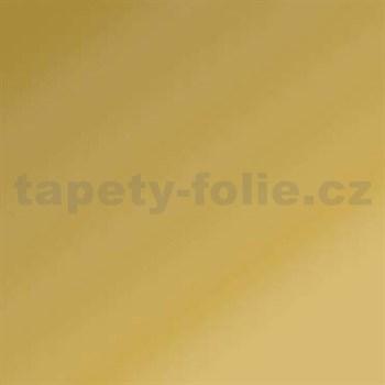 Samolepící tapety - zlatá lesklá 45 cm x 15 m