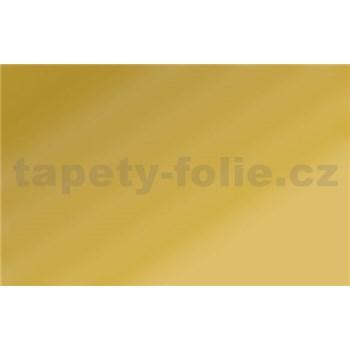 Samolepící tapety zlatá lesklá 90 cm x 15 m