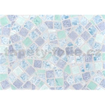 Samolepící tapety - mozaika modrá 67,5 cm x 15 m
