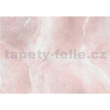 Samolepící tapety - mramor Perugia růžová 67,5 cm x 15 m