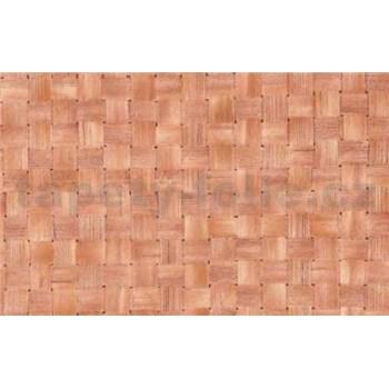 Samolepící tapety - ratan světlý 90 cm x 15 m