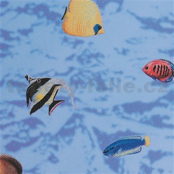 Samolepící tapety transparentní - rybičky 45 cm x 15 m