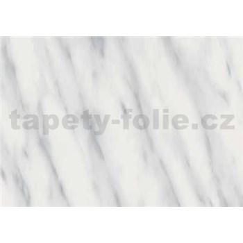 Samolepící tapety - mramor Carrara břidlicově šedá 67,5 cm x 15 m