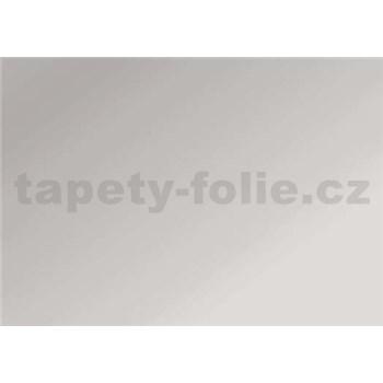 Samolepící tapety - stříbrná lesklá 67,5 cm x 15 m