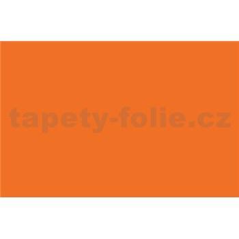 Samolepící tapety - oranžová 67,5 cm x 15 m