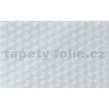 Samolepící tapety transparentní  kosočtverce - 67,5 cm x 15 m
