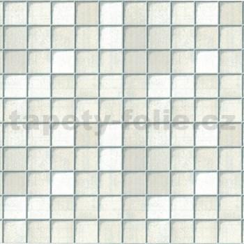 Samolepící tapety - kachličky Toscana bílé 45 cm x 15 m