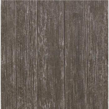 Samolepící tapety venkovské dřevo - renovace dveří - 90 cm x 210 cm