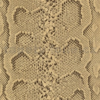Samolepící tapety hadí kůže hnědá 45 cm x 15 m