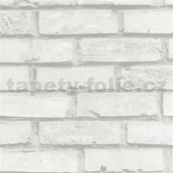 Samolepící fólie cihla bílá 45 cm x 15 m