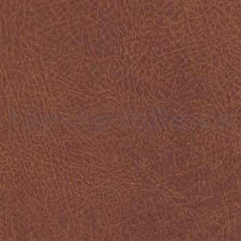 Samolepící tapety kůže hnědá 45 cm x 15 m