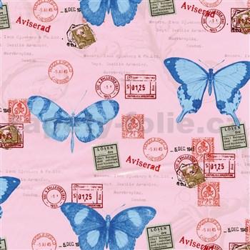 Samolepící tapety motýli 45 cm x 15 m